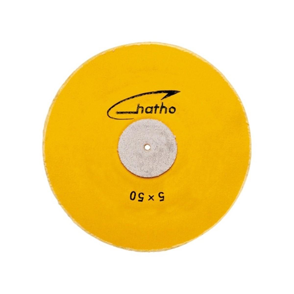 Roda de Pano Muslin Amarela Ref 08-228- Odontomega