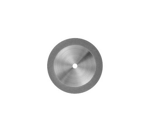 Disco Diamantado Dupla Face com Mandril Ref 121921- Odontomega