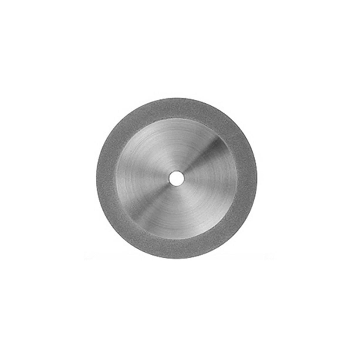 Disco Diamantado Dupla Face com Mandril Ref 142221- Odontomega