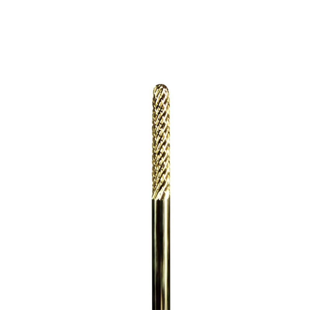Broca Tungstênio Maxicut American Burrs com revestimento de Titânio - 1512T - Corte Cruzado Fino