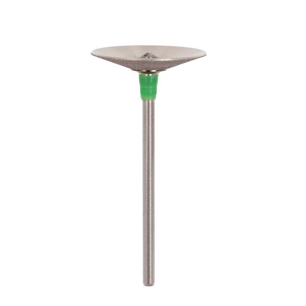 Disco Diamantado Concavo com Mandril Ref 162211- Odontomega