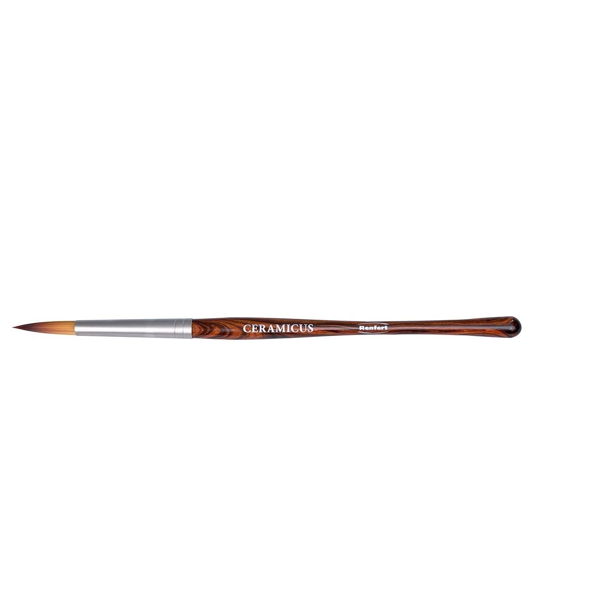 Pincel Renfert Ceramicus Microestrurura Sintética especial N.8 - Ref 1716-0008