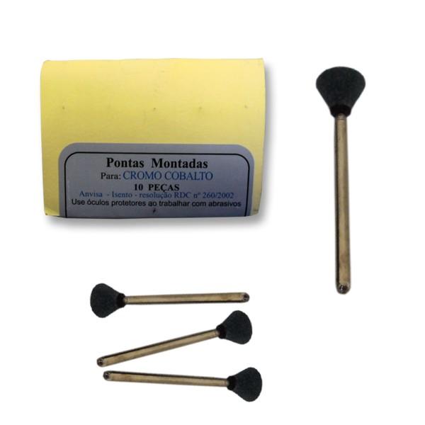 Pedra Piranha Schelble Conica Invertida Cinza PM - 10 unidades cod 1