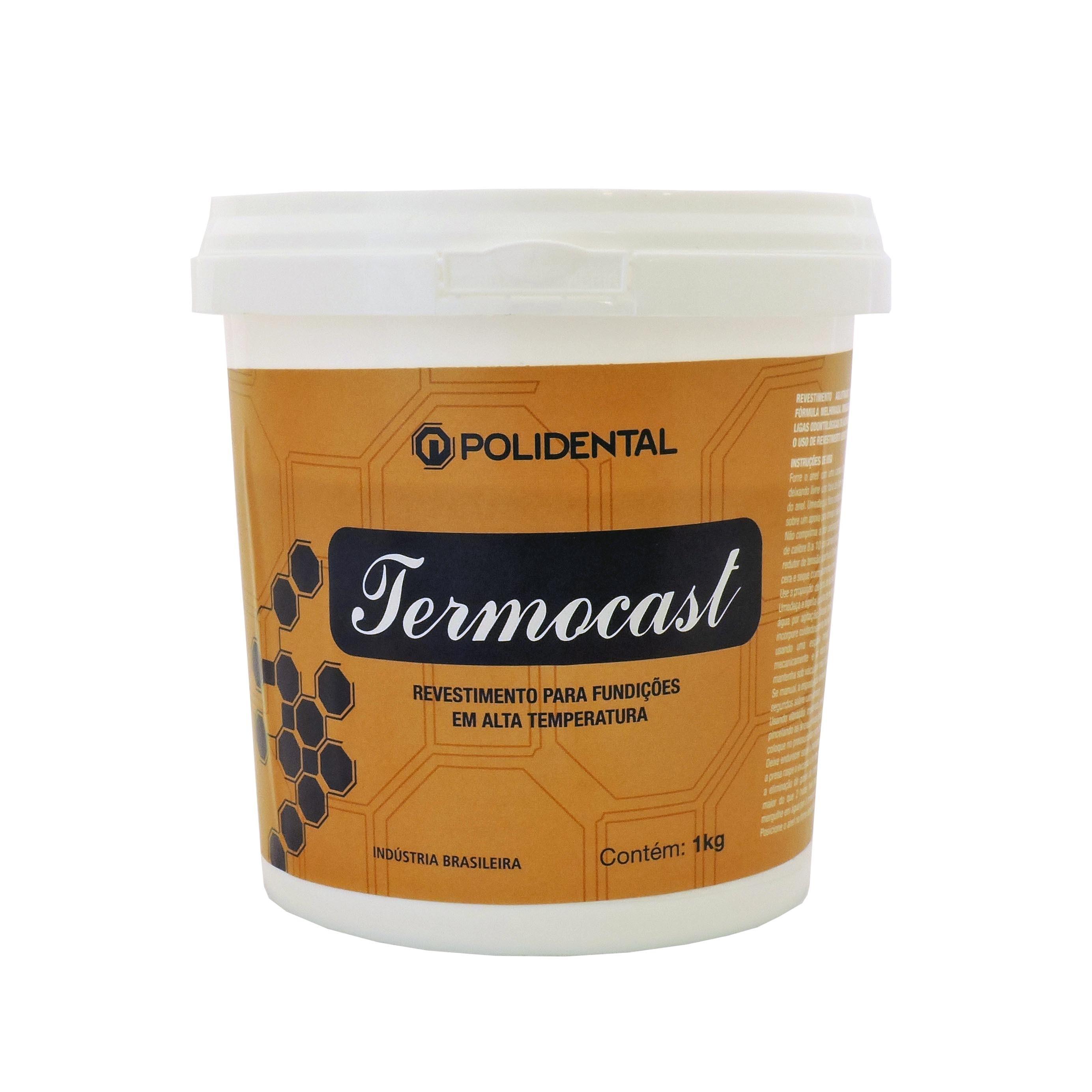 Revestimento Polidental Termocast - 1Kg pó