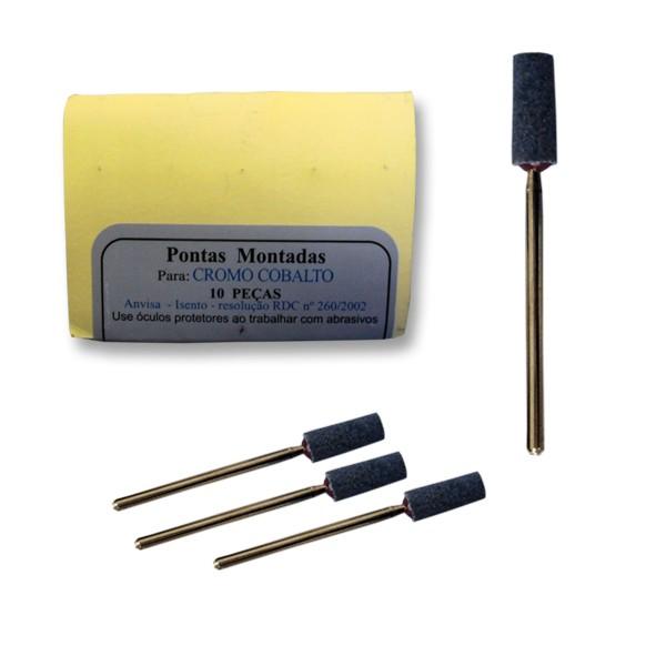 Pedra Piranha Schelble Cilíndrica Média Cinza PM - 10 unidades cod 2