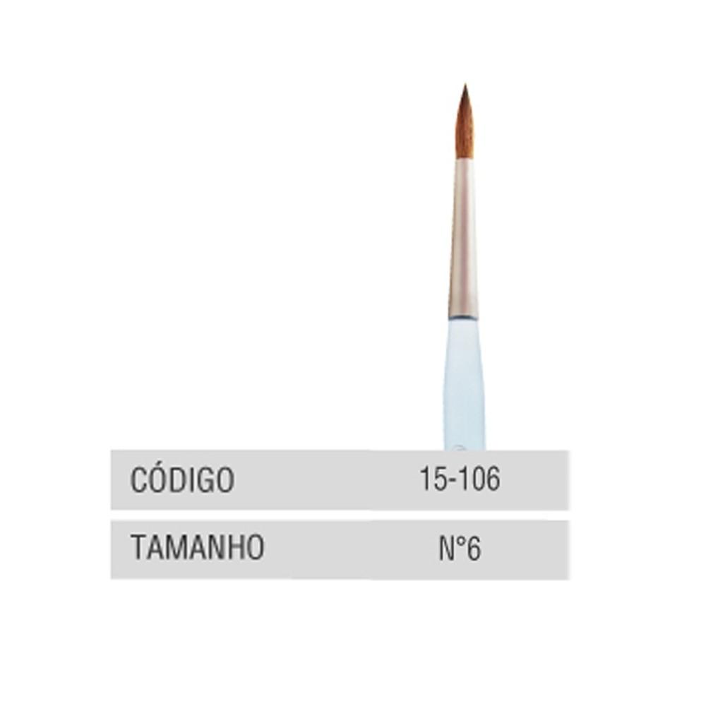 Pincel Kolinsky SkyLine - Odontomega - Ref.15-106 - Nº6