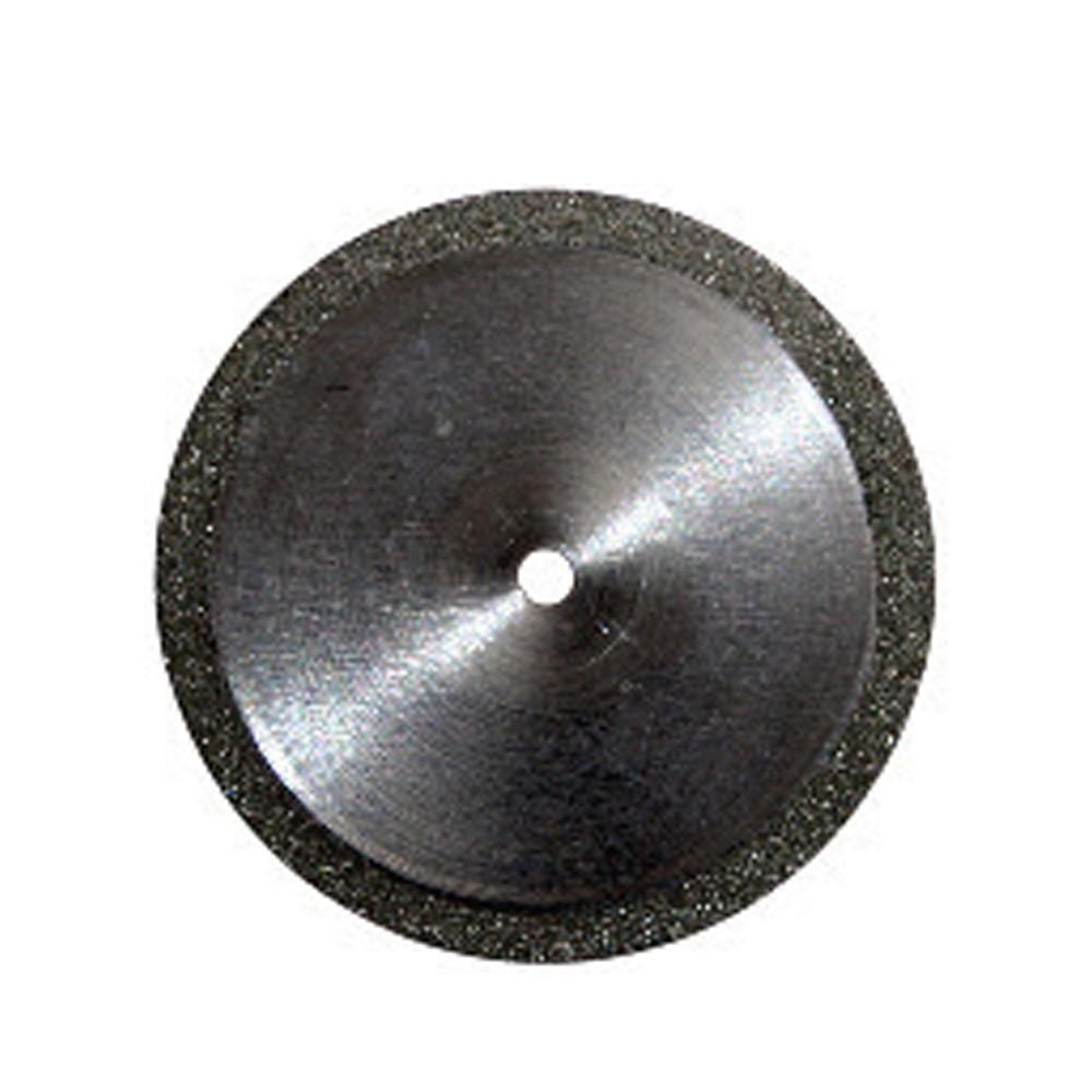 Disco Diamantado Dupla Face Periférico com Mandril - American Burrs - Ref. 7020