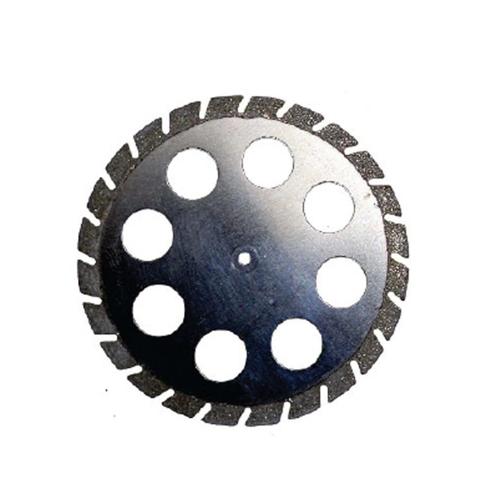 Disco para Troquel Periférico Perfurado Serrilhado Dupla-Face - American Burrs - Ref. 7047