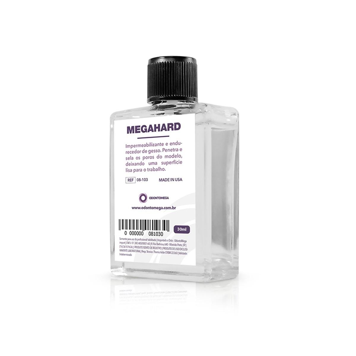 MegaHard Impermeabilizante e endurecedor de gesso Odonto Mega- Ref 08-103