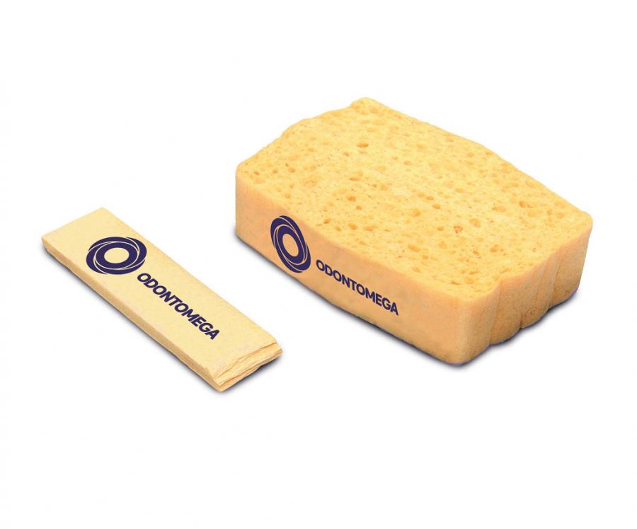 Esponja para Limpeza de Pincéis Odontomega