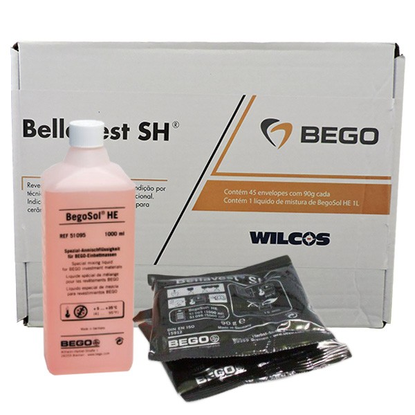 Revestimento Bego Bellavest SH - 4,05KG pó + 1L líquido