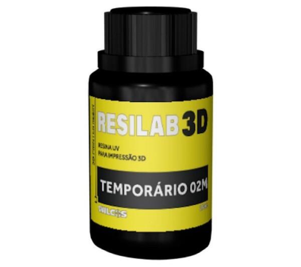 RESINA IMPRESSORA 3D RESILAB TEMPORARIA A3 250G