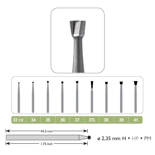 Broca Carbide JET PM Cônica Invertida