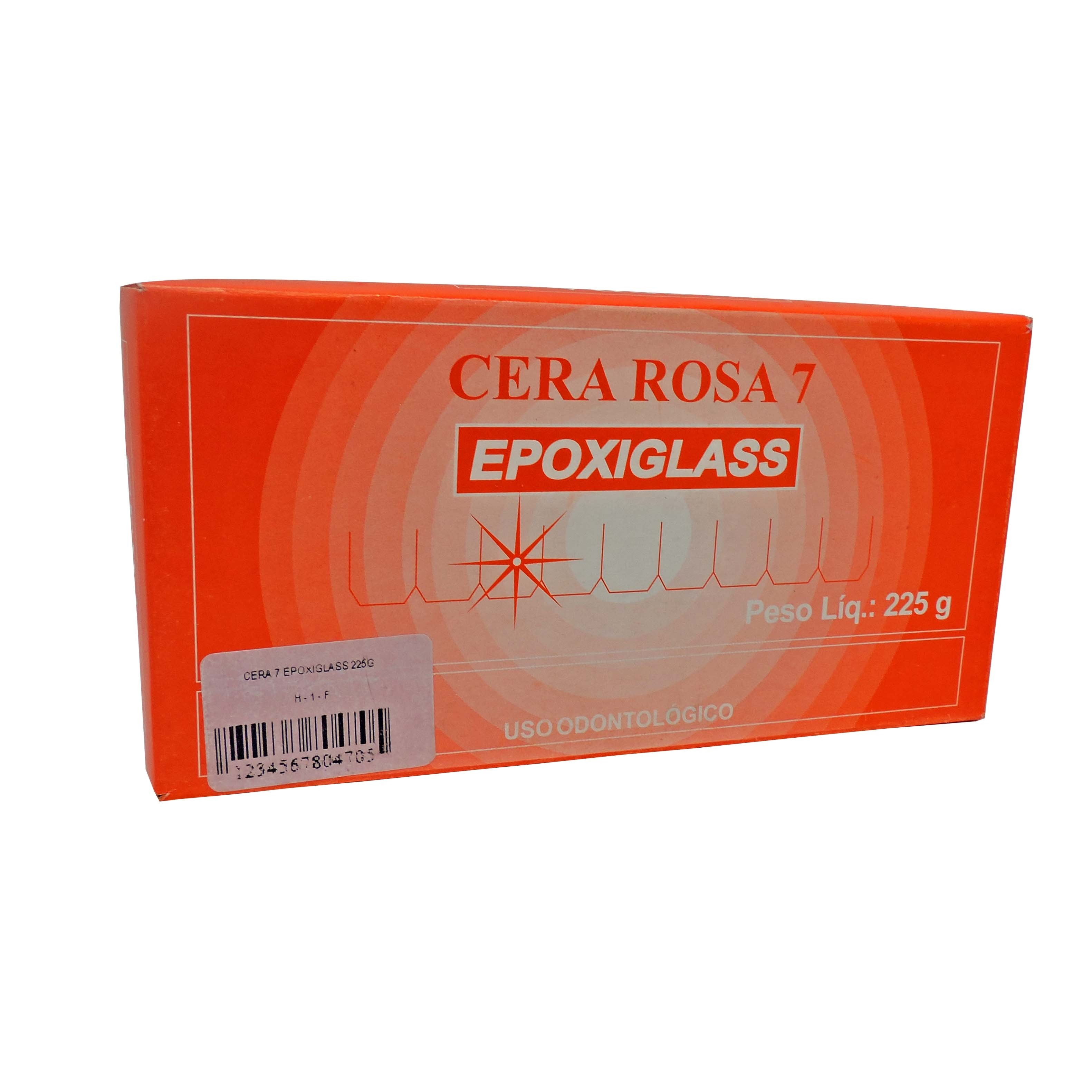 Cera Rosa 7 Epoxiglass 225grs