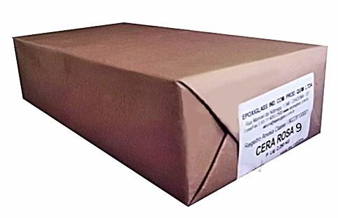 Cera Rosa 9 Epoxiglass Pacote Econômico 2,250kg