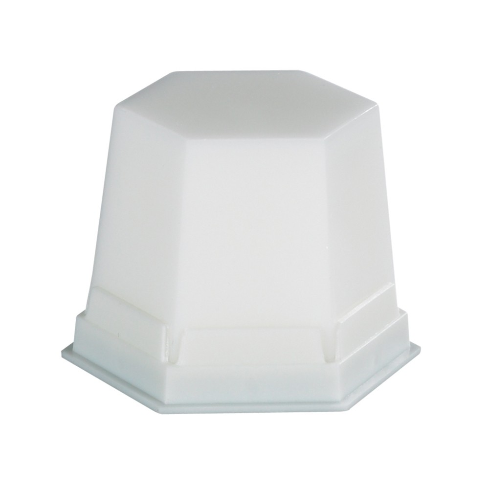 Cera GEO Classic Snow-White Branca Transparente 75g - Renfert Ref. 4990201