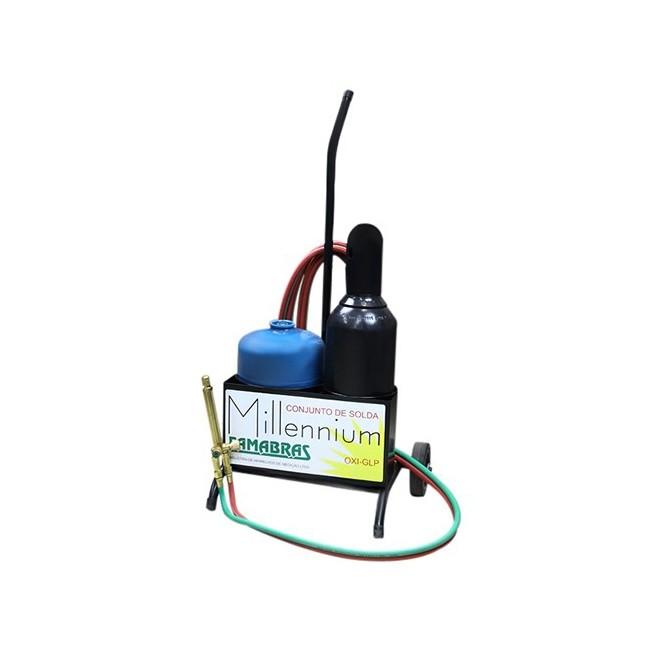Kit de Fundição/Solda Famabras Oxigênio GLP - maçarico