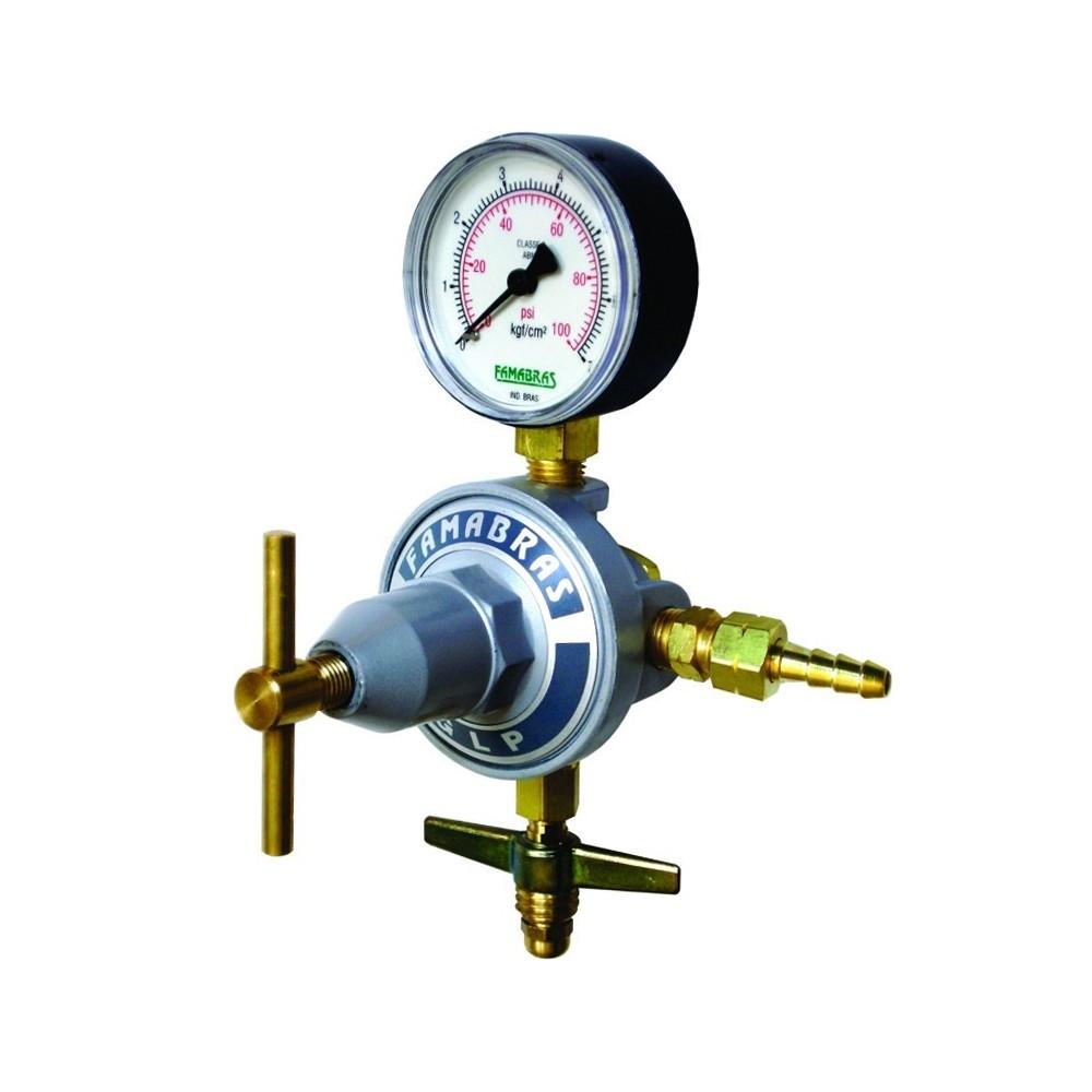 Regulador de Pressão Famabras GLP/Gás Natural FRG-13B