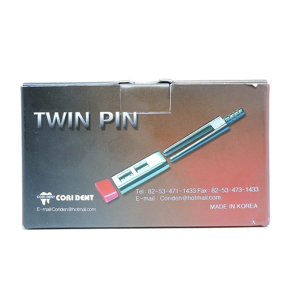 Pino para Troquel in Box Talmax Dual Pin Duplo c/ Base - caixa 1000 Unid