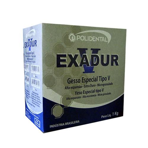 Gesso Especial Exadur Polidental 1 Kg