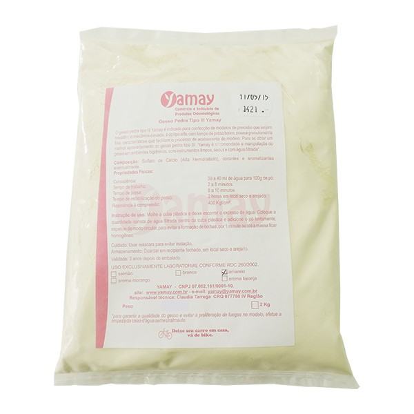 Gesso Pedra Yamay 2kg
