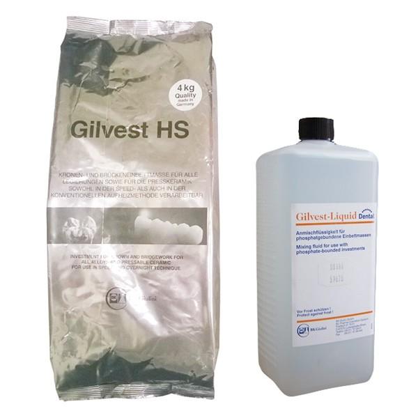 Revestimento Gilvest HS - 4 Kg pó + 1.000ml líquido
