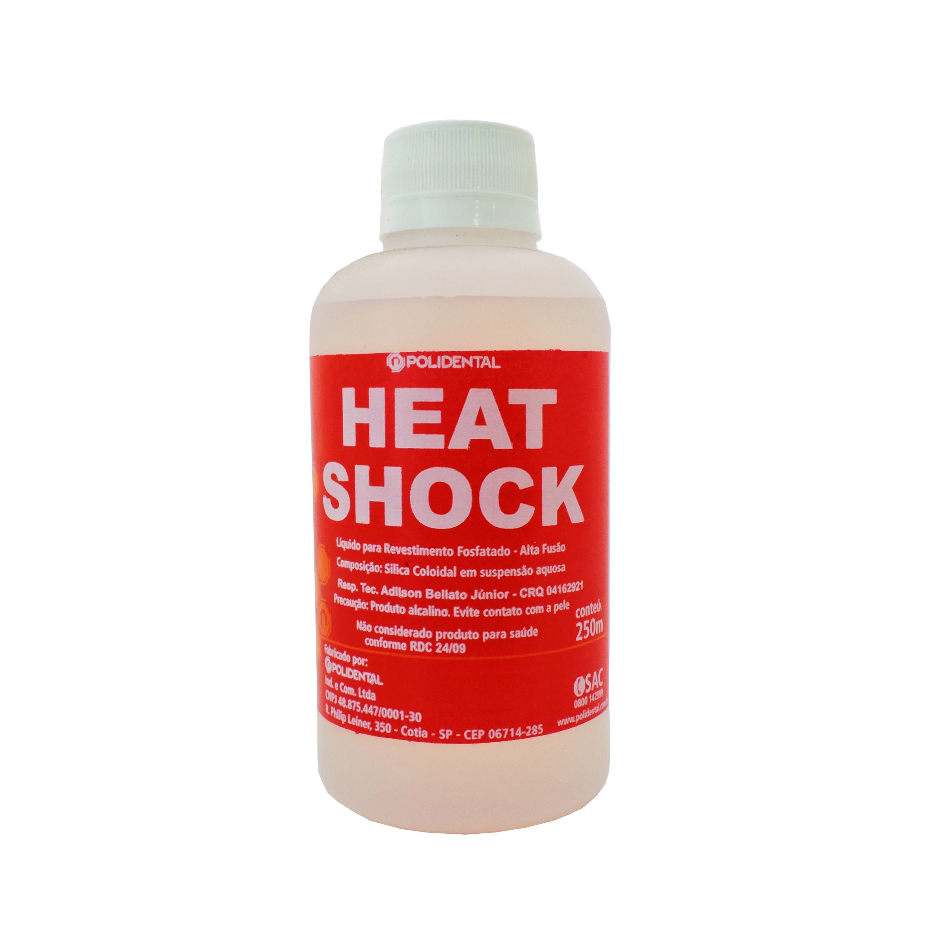 Revestimento Polidental Heat Shock - 250ml líquido