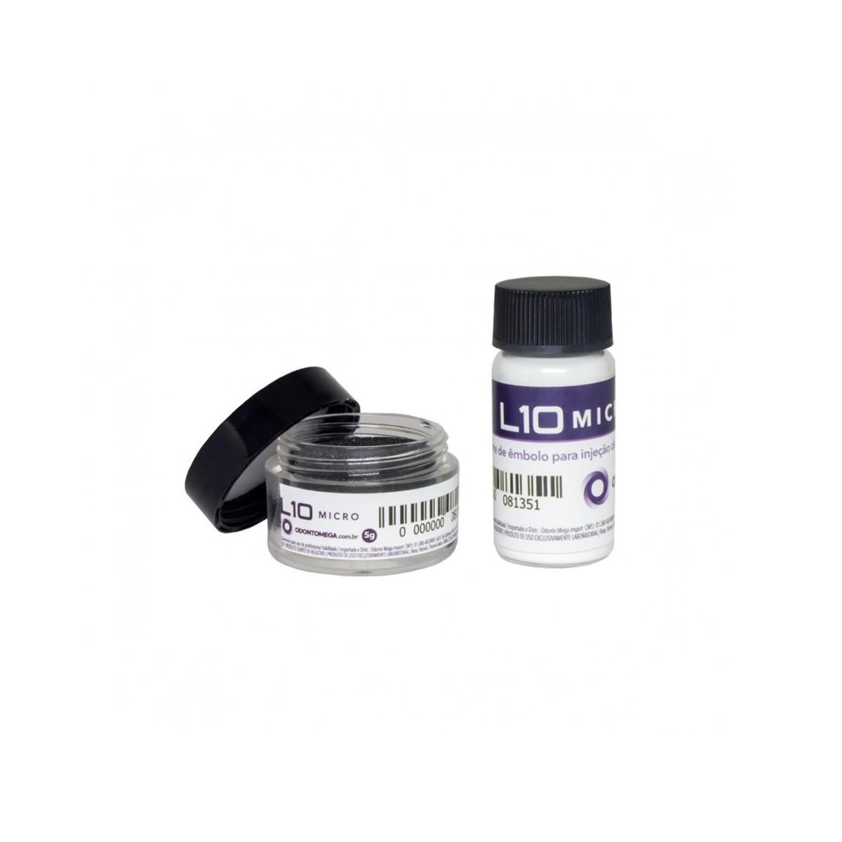 Agente Isolante L10 para Dissilicato Odontomega 5g - Ref 08-135