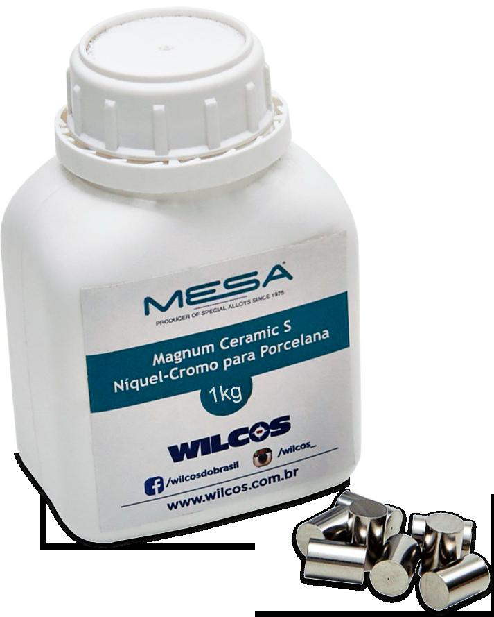 Liga Metalica Magnum Ceramic S Mesa 1kg - Wilcos