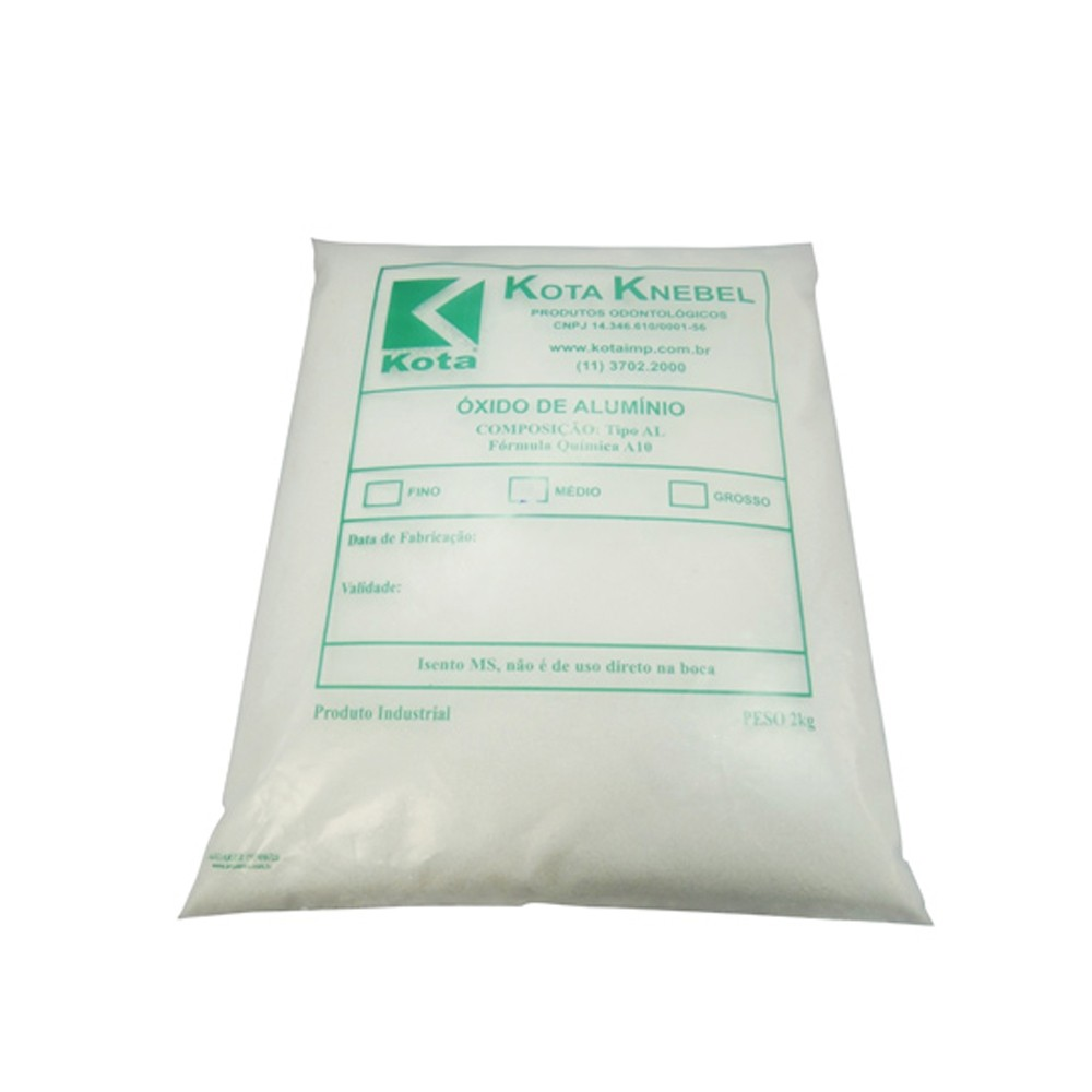 Óxido de Alumínio Grosso - Kota Knebel 2Kg