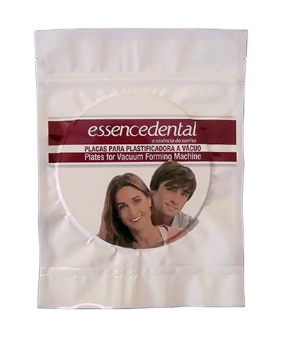 Placa Soft Essencedental (VH) 1mm Redonda - moldeira de clareamento - embalagem com 10 unidades