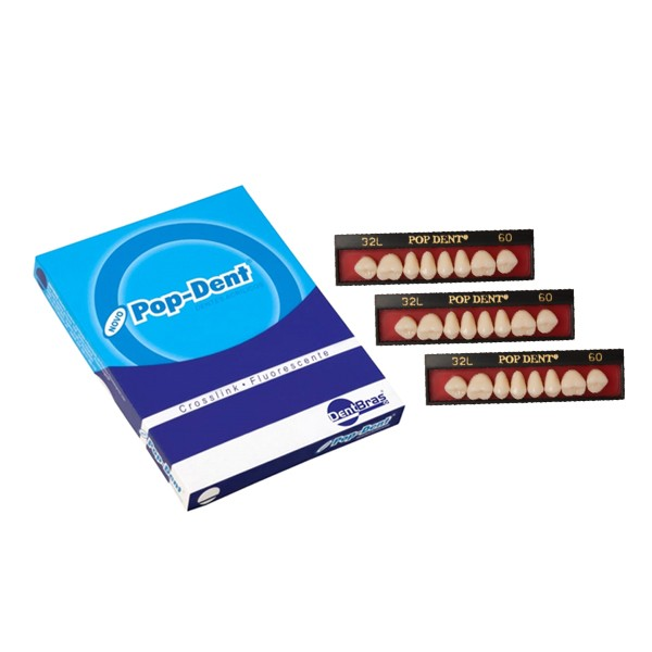 Dente DentBras Pop-Dent Modelos Posteriores
