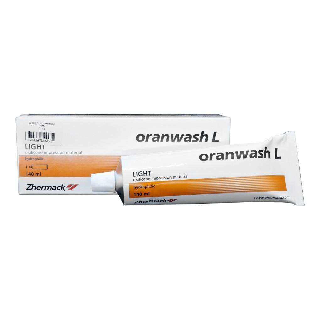 Silicone de Condensação Fluído Oranwash L Zhermack 140ml