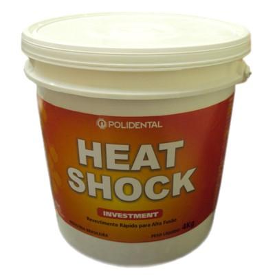Revestimento Polidental Heat Shock - 4Kg pó