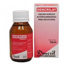 Resina Acrílica Autopolimerizável Dencrilay Líquido 50mL