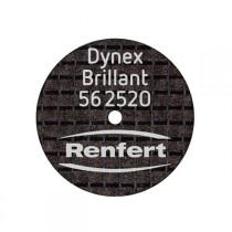 Disco de corte Renfert Dynex Brillant 0,25 x 20mm 1 unid - Ref 56-2520