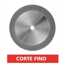 Disco Diamantado Dupla Face Parcial Odontomega - Ref.122222