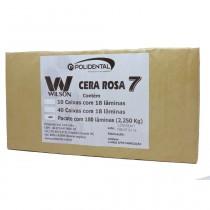 Cera 7 Wilson Rosa - Pacote Econômico 2,250Kg - Polidental