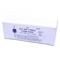 Disco Cut Off grosso Dentorium Ref-210 - caixa 100 unid