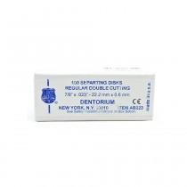 Disco Carborundum Dentorium cinza Ref-223 - caixa 100 unid