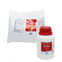 Resina Acrílica Autopolimerizável Fast  Frantins KIT 250ml + 450g Incolor