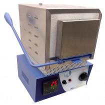 Forno Elétrico Digital Inox Millenium 06 Anéis 1100°C VRC COM ALARME