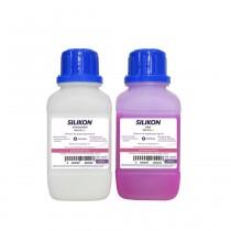 Silicone Duplicador Silikon Shore 22 Rosa - Odontomega - Ref.08-222