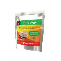 Gesso Resinoso Zero Stone - Dentona 1 Kg Cor Ivory Marfim