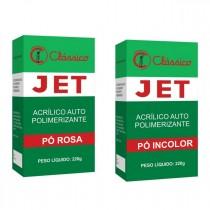 Resina Acrílica Autopolimerizável JET 220g - resina de rápida