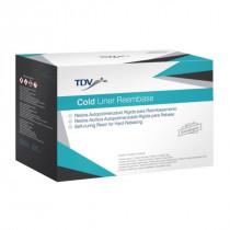 Kit resina cold liner reembasador TDV Incolor