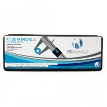 Kit de Aferição de Temperatura VRC para Fornos de Porcelana - Acompanha 3 Pastilhas Pirométricas