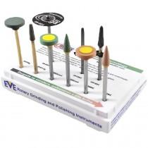 Kit de Polimento Zirconia 9UNI- Ref 18-302