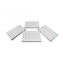 Moldes para confecção de elementos provisórios Logos - kit com 4 peças