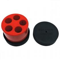 Molde Para Embolo Com 5 Orifícios 13mm- Essence Dental VH